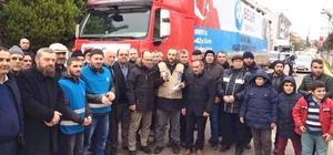 Altınova'dan Halep'e yardım eli