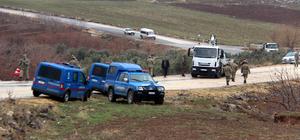 Kilis'te askeri araç şarampole devrildi: 2 asker yaralı