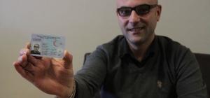 Samsun'da yeni çipli kimlik kartlarının dağıtımına başlandı