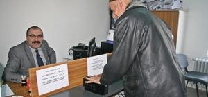 Sungurlu'da çipli kimlikler verilmeye başlandı