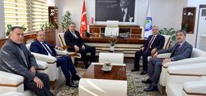 Başkanlar Salihli'de projeleri değerlendirdi
