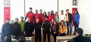 Aydın'da güvenli motosiklet sürüş eğitimi gerçekleşti