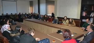 Ardahan'a yeni atanan öğretmenlerden Başkan Köksoy'a ziyaret