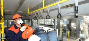 EGO otobüslerinde dezenfekte seferberliği