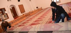 Seyyid Battal Gazi türbe ve camisine alttan ısıtma sistemi