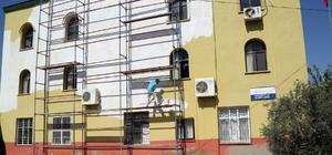 Erdemli Belediyesi'nden okul ve camilere hizmet desteği