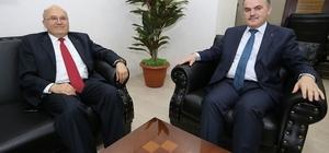 Balcıoğlu'ndan Başkan Gürlesin'e ziyaret