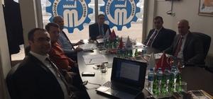 Muratlı OSB Yönetim Kurulu toplantısı yapıldı