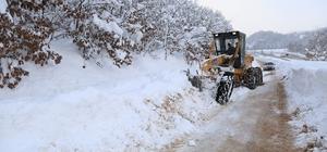Karla kesintisiz mücadele sürüyor