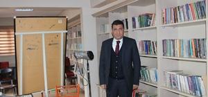 Siirt'te okul kütüphaneleri için kampanya