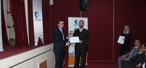 Başarılı kursiyerlere sertifikaları verildi