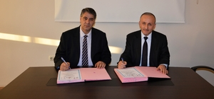 KBÜ'de Mesleki ve Teknik Eğitime yönelik iş birliği protokolü