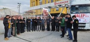 Osmancık KYK'nın Yardım Tır'ı Yola Çıktı