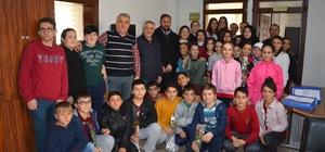 Niksar Atatürk Ortaokulundan polise destek
