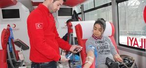 Kan bağışı çağrısı vatandaşları harekete geçirdi