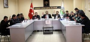 Karpuzlu Belediye Meclisi 2017'in ilk toplantısını gerçekleştirdi