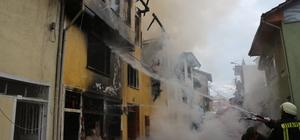 GÜNCELLEME - Kütahya'da ev yangını