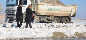 Kar suları Akgöl'ü canlandıracak