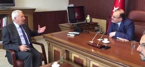 Belediye Başkanı Yıldırım'dan Köken'e ziyaret