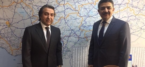 Milletvekili Polat'dan Kartal'a ziyaret