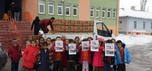 Öğrencilerden Halep'e yardım