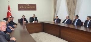 İl Genel Meclisi kaymakamları ziyaret etti