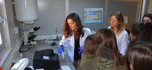 Lise öğrencilerden TESKİ tesislerine gezi ve inceleme
