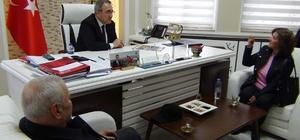 Hayvanseverlerden Başkan Karaçoban'a teşekkür ziyareti