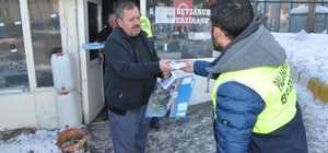 Palandöken Belediyesinin beklenen Erzurum şehir takvimi dağıtımı başladı