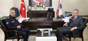 Başkan Yanılmaz'dan polis eğitim merkezine ziyaret