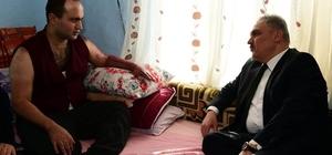 Vali Ahmet Okur, El Bab gazisini ziyaret etti