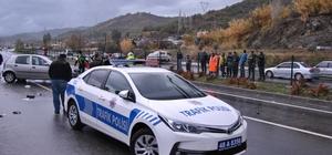 Fethiye'de kazaya müdahale eden polislere otomobil çarptı; 3 yaralı