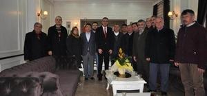 AK Parti'den Kaymakam Çağlar'a ziyaret