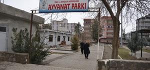 Siverek'te atıl durumdaki parklar onarılıyor