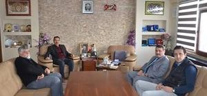 Eskişehir Orman Fidanlık Müdürü İnan'dan Günyüzü Belediyesi'ne ziyaret