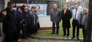 """Başkan Karaosmanoğlu, """"Kan acil değil sürekli ihtiyaçtır"""""""