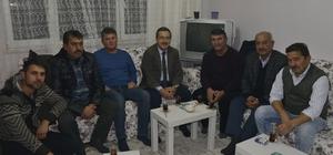 Başkan Ataç Alpu'ya konuk oldu