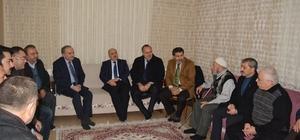 Bakan Faruk Özlü'den Keskin ailesine taziye ziyareti