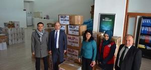 """Gençlerden KYK'nın, """"Halep"""" yardım kampanyasına destek"""