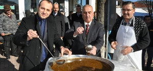 """Pınarbaşı'nda """"Kara çorba"""" günü"""