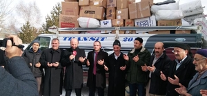 Erzurum'dan Halep'e yardım eli