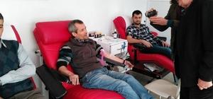 Osmaniyeliler kan bağışı davetine uydu