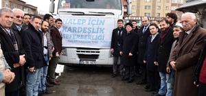 TÜGVA'dan Halep'e Yardım Tır'ı