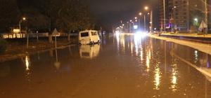 Yağış Nedeniyle Aydın-izmir Karayolu Trafiğe Kapandı