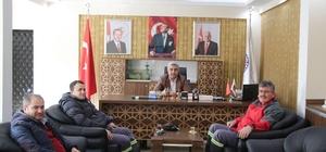 Daire Başkanı Emin Türk, Hisarcık'ta incelemelerde bulundu