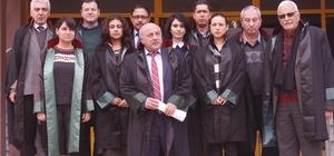 Selçuk'taki avukatlar teröre karşı tek yumruk oldu