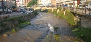 Kumru'da Elekçi Irmağı ıslah ediliyor
