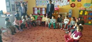 Kulu Kaymakamı Arslan okulları ziyaret etti