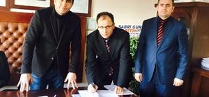 """Şarkikaraağaç'ta """"Mesleki ve Teknik Eğitim Okul Yönetim Kurulu""""  protokolü imzalandı"""