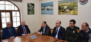 Vali Mehmet Aktaş Eflani'de incelemelerde bulundu